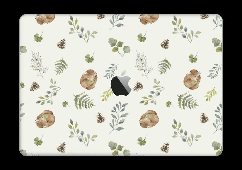 """Mønster inspirert av skogen Skin MacBook Pro 13"""" 2016-"""