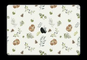 """Mønster inspirert av skogen Skin MacBook Pro 15"""" 2016-"""