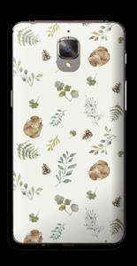 Mønster inspirert av skogen Skin OnePlus 3