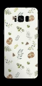 Mønster inspirert av skogen Skin Galaxy S8
