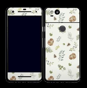 Mønster inspirert av skogen Skin Pixel 2