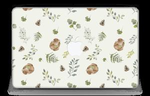 "Pattern inspired by woodland   Skin MacBook Air 11"""