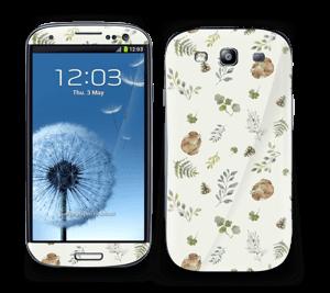 Mønster inspireret af skoven Skin Galaxy S3