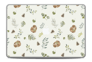 Pattern inspired by woodland   Skin MacBook Pro 17