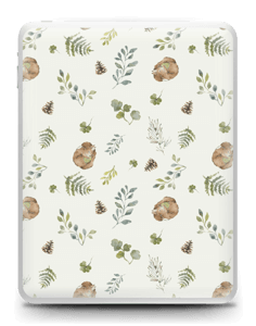 Pattern inspired by woodland   Skin IPad 1