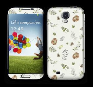 Mönster inspirerat av skogen   Skin Galaxy S4