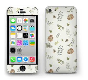 Pattern inspired by woodland   Skin IPhone 5c