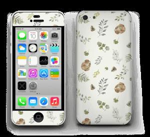Mönster inspirerat av skogen   Skin IPhone 5c