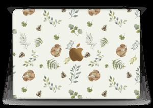 """Mønster inspirert av skogen Skin MacBook 12"""""""