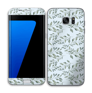Leafs   Skin Galaxy S7 Edge