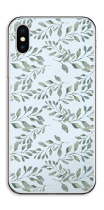 Feuilles   Skin IPhone XS