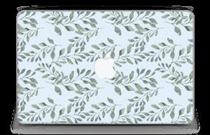 """Pattern with leaf   Skin MacBook Air 11"""""""