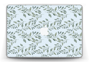 Pattern with leaf   Skin MacBook Pro 13