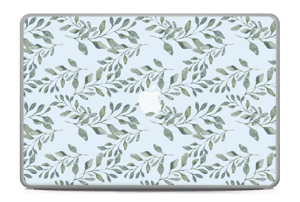"Pattern with leaf   Skin MacBook Pro 17"" -2015"