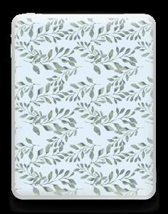 Pattern with leaf   Skin IPad 1