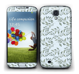 Feuilles   Skin Galaxy S4