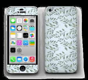 Mönster med blad   Skin IPhone 5c
