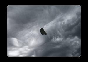 """Dunkle Wolken über Schweden Skin MacBook Pro 13"""" 2016-"""