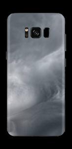 Dunkle Wolken über Schweden Skin Galaxy S8