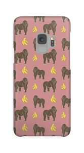 Affe und Bananen Handyhülle Galaxy S9