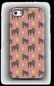 Monkey + Banana kuoret IPhone 5/5s tough