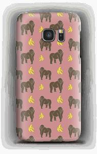 Monkey + Banana Rose Coque  Galaxy S7