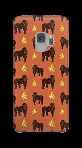 Affe und Banane Handyhülle Galaxy S9