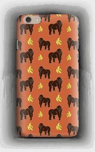 Monkey + Banana oranssi kuoret IPhone 6 Plus