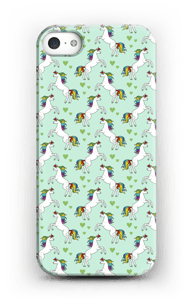 Rainbow Unicorn deksel IPhone SE