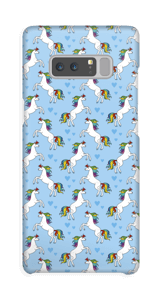 We love unicorns and this lovely phone case with unicorns