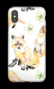 Malin comme un renard Coque  IPhone XS Max tough