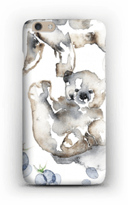 Karhun halaus kuoret IPhone 6 Plus