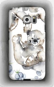 Karhun halaus kuoret Galaxy S6 Edge
