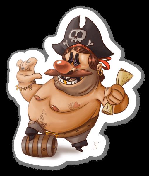 Pirate !  sticker