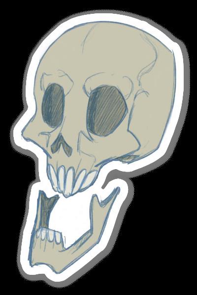 Skull Kid  sticker