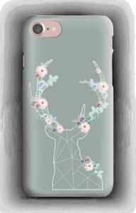 Cerf & Fleurs  Coque  IPhone 7