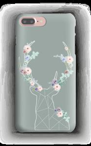 Cerf & Fleurs  Coque  IPhone 7 Plus