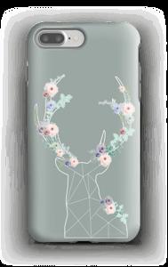 Cerf & Fleurs  Coque  IPhone 7 Plus tough