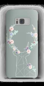 Cerf & Fleurs  Coque  Galaxy S8