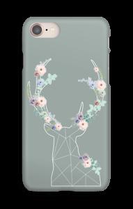 Cerf & Fleurs  Coque  IPhone 8