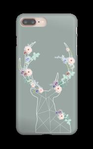 Cerf & Fleurs  Coque  IPhone 8 Plus