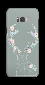 Cerf & Fleurs  Coque  Galaxy S8 Plus