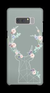 Cerf & Fleurs  Coque  Galaxy Note8