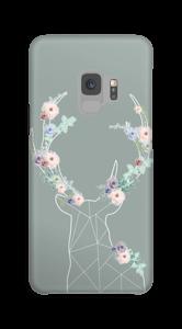 Cerf & Fleurs  Coque  Galaxy S9