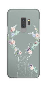 Cerf & Fleurs  Coque  Galaxy S9 Plus