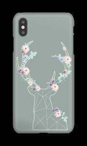 Cerf & Fleurs  Coque  IPhone XS Max