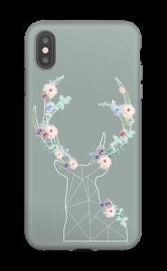 Cerf & Fleurs  Coque  IPhone XS Max tough