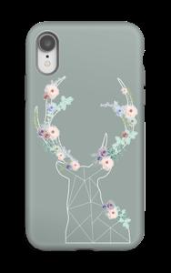 Cerf & Fleurs  Coque  IPhone XR tough