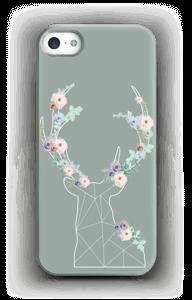 Lovely flowery reindeer  case IPhone 5/5S