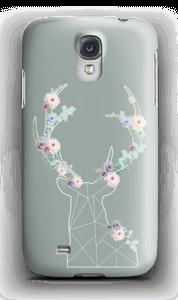 Cerf & Fleurs  Coque  Galaxy S4